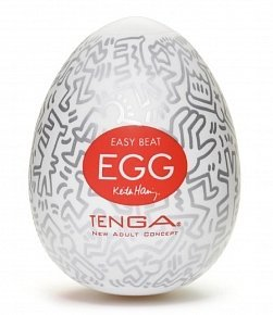 Мастурбатор яйцо Tenga Egg Keith Haring Party KHE-003