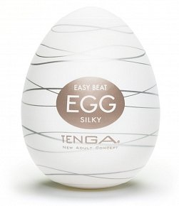 Мастурбатор Tenga egg Easy beat silky EGG-006